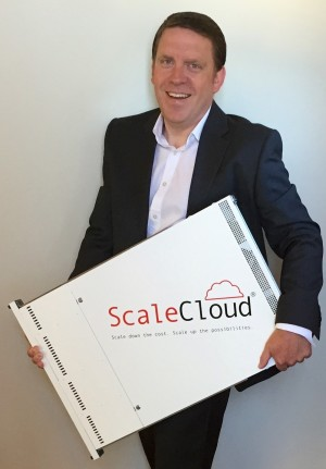 Receipt of first Production ScaleCloud Appliance